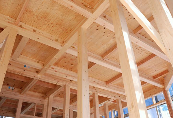 木造軸組工法 青森の風土にあった家づくり。
